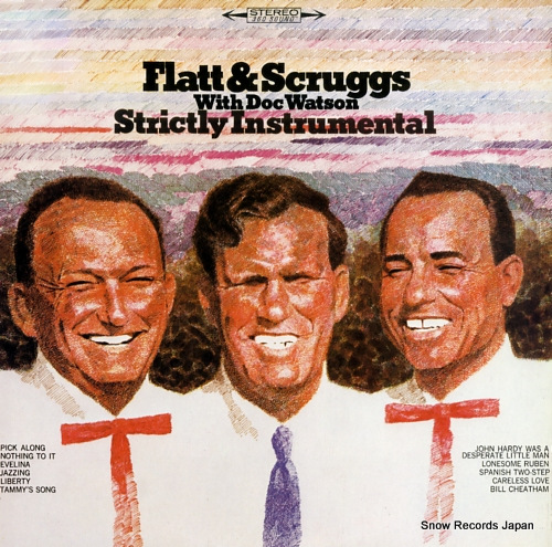 FLATT, LESTER, AND EARL SCRUGGS strictly instrumental 20AP1650 - front cover