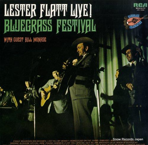 レスター・フラット ライブ・ウィズ・ビル・モンロー RCA-5177
