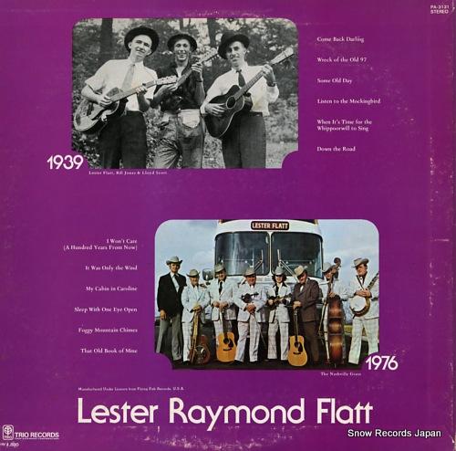 FLATT, LESTER lester raymond flatt PA-3131 - back cover
