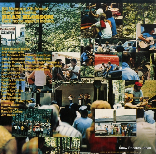 MONROE, BILL bean blossom MCA-9246-47 - back cover