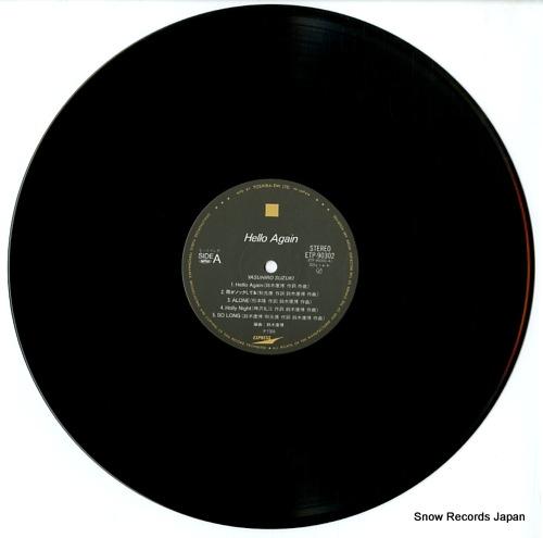 SUZUKI, YASUHIRO hello again ETP-90302 - disc