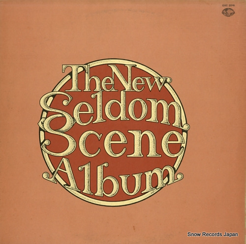 SELDOM SCENE, THE the new seldom scene album GXC2016 - front cover