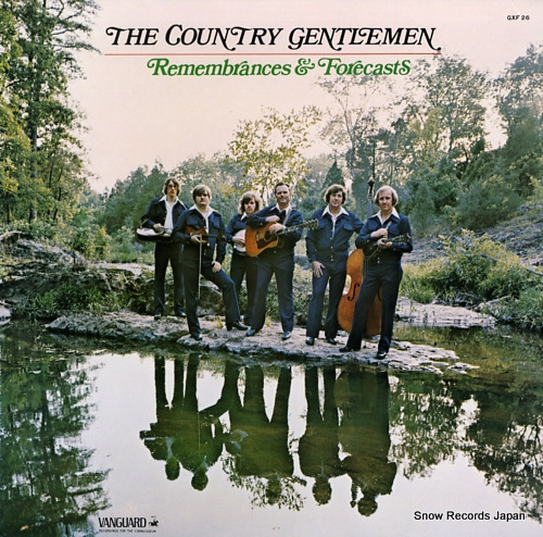 COUNTRY GENTLEMEN, THE remembrances & forecasts GXF26 - front cover