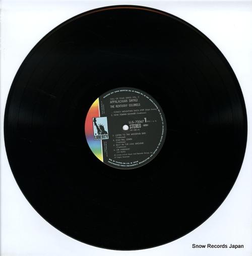 KENTUCKY COLONELS, THE appalachian swing LLS-70067 - disc