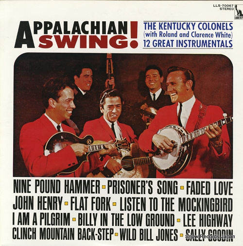 KENTUCKY COLONELS, THE appalachian swing LLS-70067 - front cover
