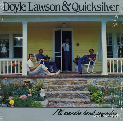 LAWSON, DOYLE AND QUICKSILVER i'll wander back somday SH-3769 - front cover
