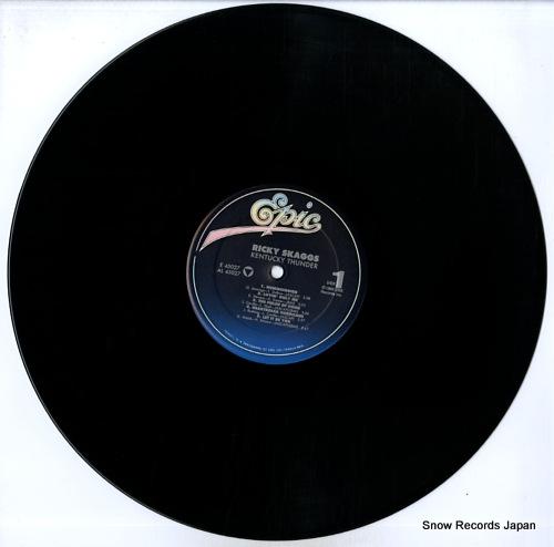 SKAGGS, RICKY kentucky thunder FE45027 - disc