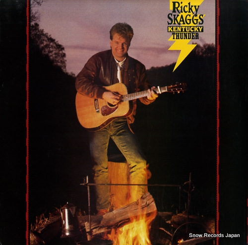 SKAGGS, RICKY kentucky thunder FE45027 - front cover