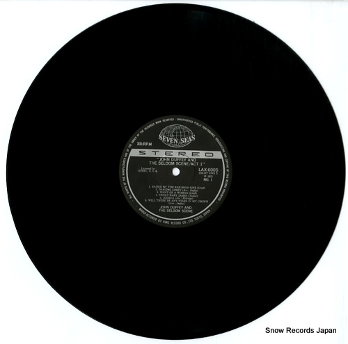 SELDOM SCENE, THE act 1 LAX6005 - disc
