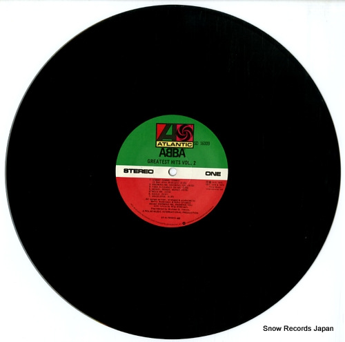 ABBA greatest hits vol.2 SD16009 - disc