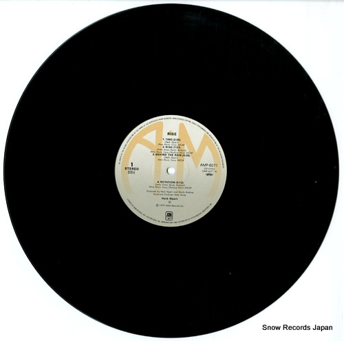 ALPERT, HERB rise AMP-6071 - disc