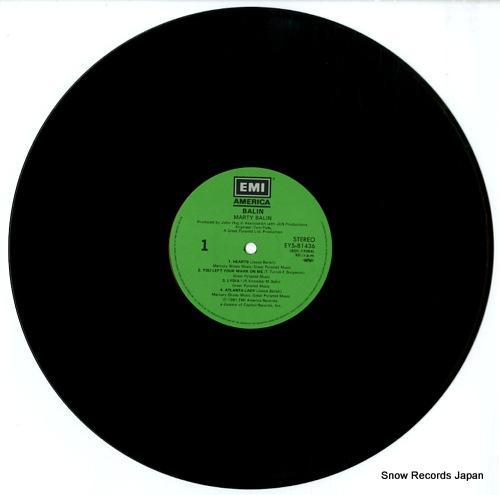 BALIN, MARTY balin EYS-81436 - disc