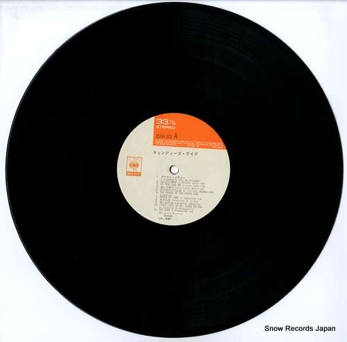 CANDIES live 25AH125 - disc