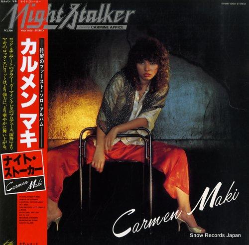 CARMEN MAKI night stalker MKF1050 - front cover