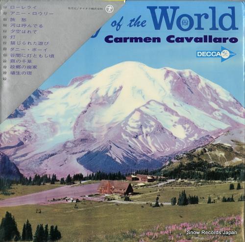 CAVALLARO, CARMEN poetry of the world SDL-10110 - back cover