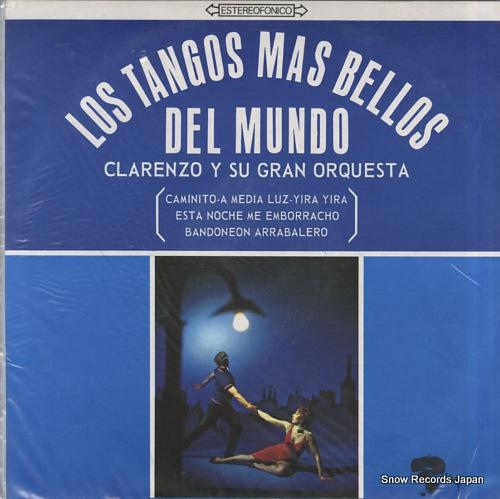 CLARENZO Y SU GRAND ORQUESTA los tangos mas bellos CI-13