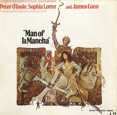 LEIGH, MITCH / JOE DARION man of la mancha UAS-9906 - front cover