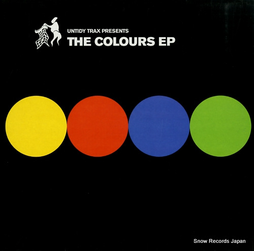 UNTIDY DJS. THE the colours ep UNTIDY008 - front cover