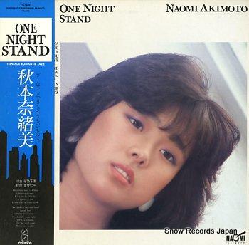 AKIMOTO, NAOMI one night stand