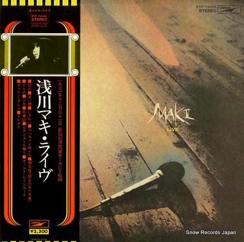 ASAKAWA, MAKI live