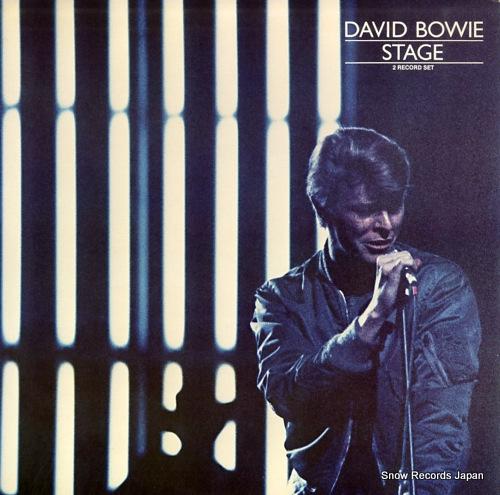 BOWIE, DAVID stage