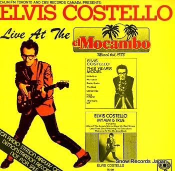 COSTELLO, ELVIS live at the el mocambo