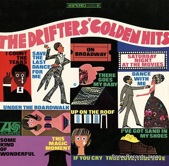 DRIFTERS, THE golden hits