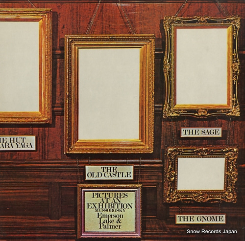 EMERSON, LAKE AND PALMER pictures at an exhibition