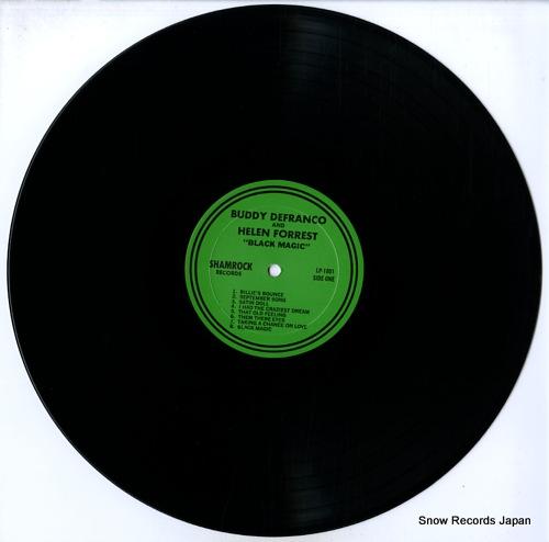 DEFRANCO, BUDDY, AND HELEN FORREST black magic LP-1801 - disc