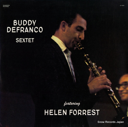 DEFRANCO, BUDDY, AND HELEN FORREST black magic LP-1801 - front cover