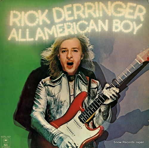 DERRINGER, RICK all american boy ECPL-107 - front cover