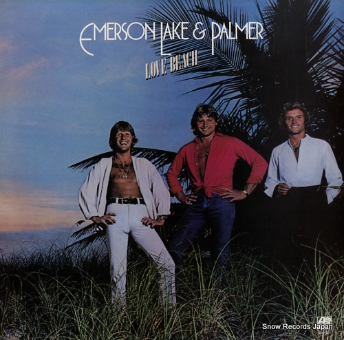 EMERSON, LAKE AND PALMER love beach K50552 - front cover