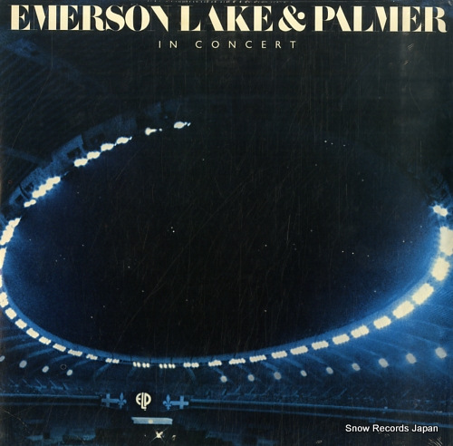 EMERSON, LAKE AND PALMER emerson, lake and palmer in concert SD19255 - front cover