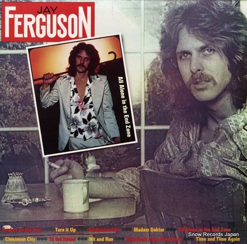 FERGUSON, JAY all alone in the end zone 7E-1063 - front cover
