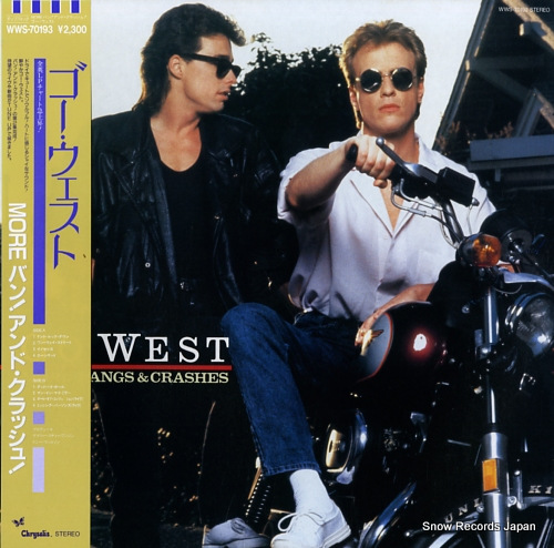GO WEST more bangs & crashes WWS-70193 - front cover