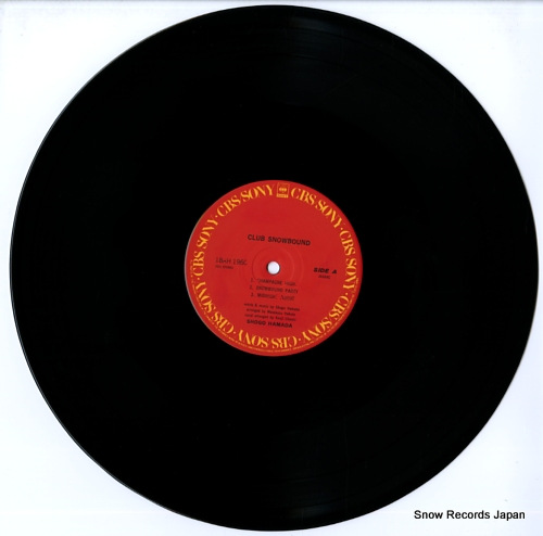 HAMADA, SHOGO club snowbound 18AH1960 - disc