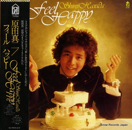 HARADA SHINJI feel happy