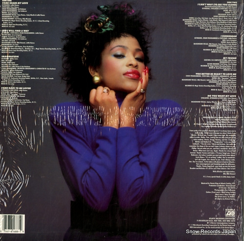 HOWARD, MIKI come share my love 81688-1 - back cover