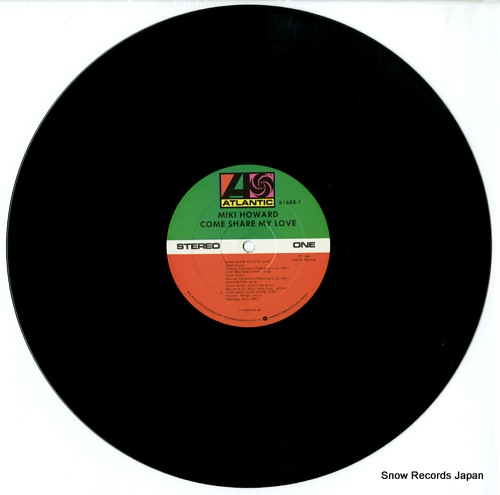 HOWARD, MIKI come share my love 81688-1 - disc