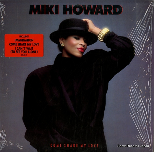 HOWARD, MIKI come share my love 81688-1 - front cover