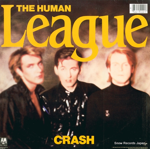 HUMAN LEAGUE, THE crash SP-5129 - back cover