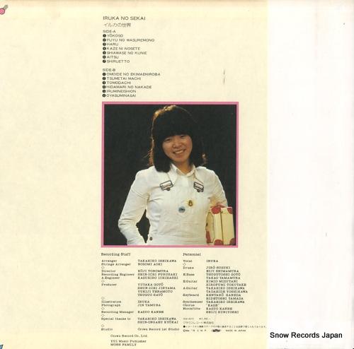 IRUKA iruka no sekai GW-4010 - back cover