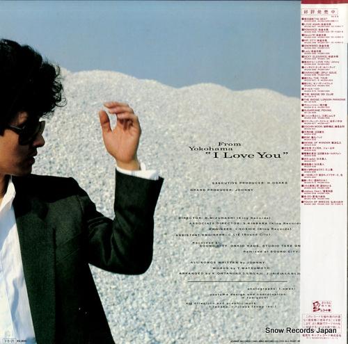 JOHNNY from yokohama i love you K28A-642 - back cover