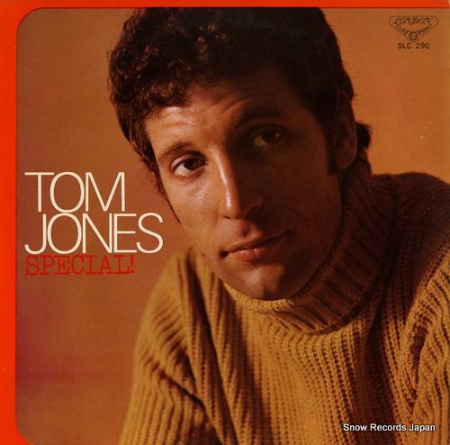JONES, TOM special SLC290 - front cover