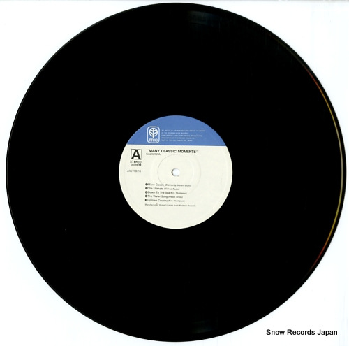 KALAPANA many classic moments AW-1020 - disc
