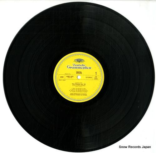 KARAJAN, HERBERT VON gustav holst; the planets 28MG0183 - disc