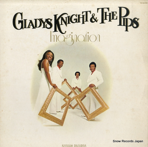 KNIGHT, GLADYS, AND THE PIPS imagination YZ-52-DA - front cover