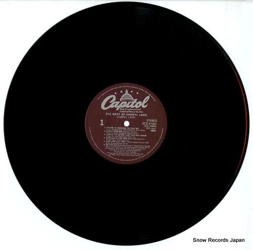 LADD, CHERYL the best of cheryl ladd ECS-91001 - disc