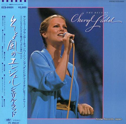 LADD, CHERYL the best of cheryl ladd ECS-91001 - front cover