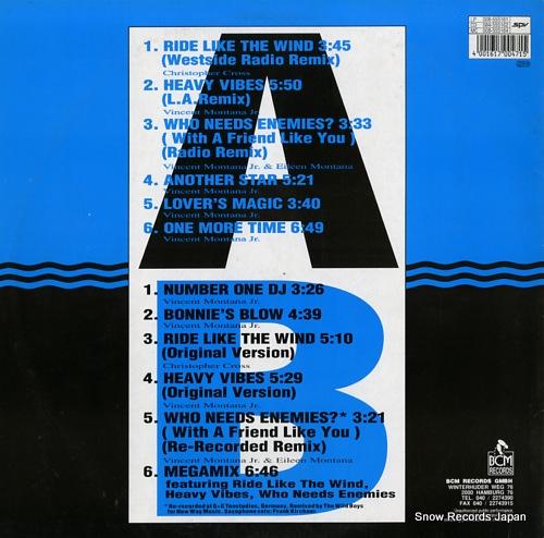 MONTANA SEXTET heavy vibes LP008-555161SPV - back cover